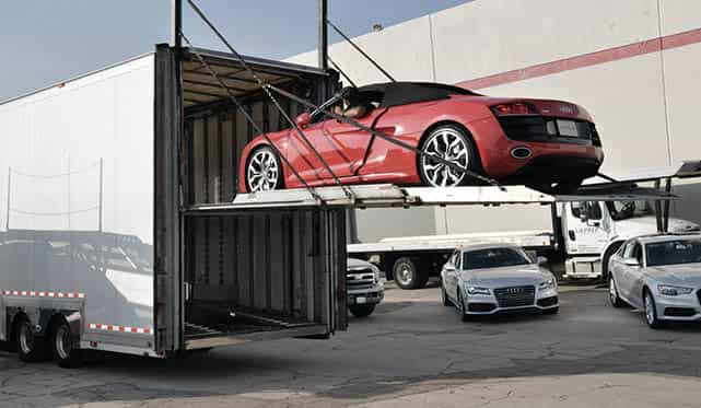 Enclosed Auto Transport Services Tci Logistics